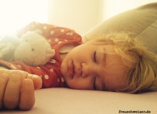 Kind-schlafen