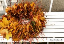 DIY-Blätter-herbst-Kranz