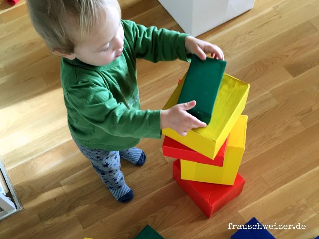 Super Tankstelle für Kinder selber bauen 1