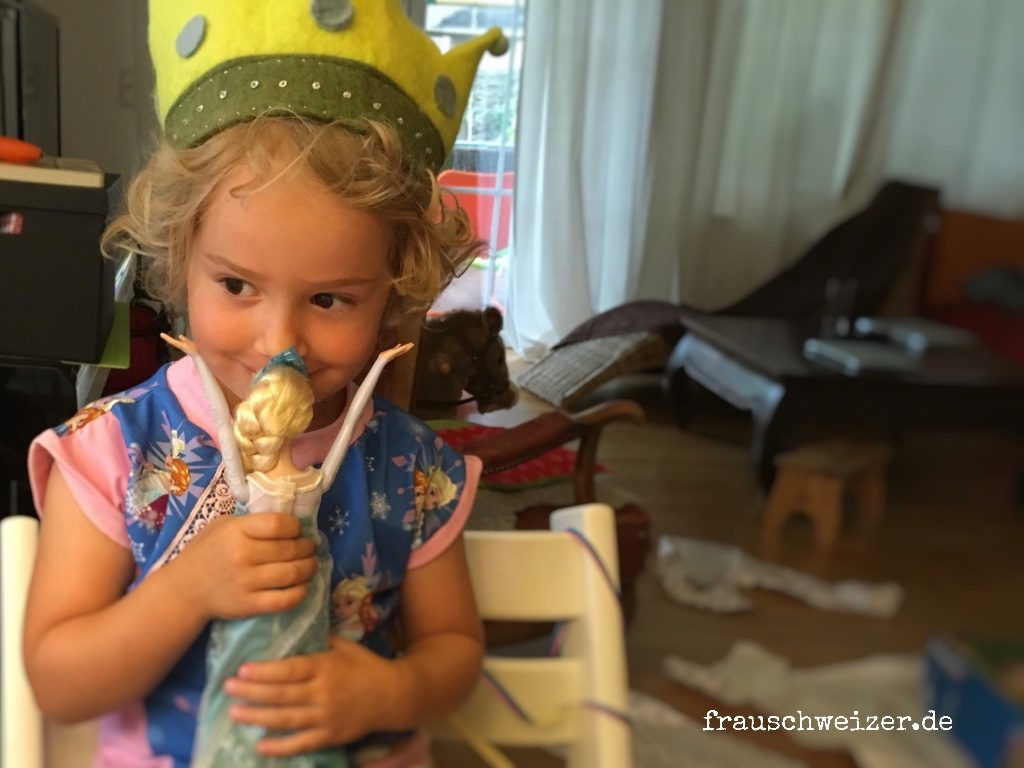 frozen elsa, geschenk, kindergeburtstag