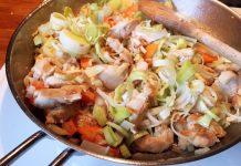 Rezept schnelle Reispfanne