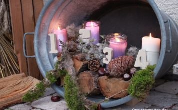 outdoor adventskranz