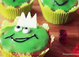 Rezept haselnuss muffin Froschparty