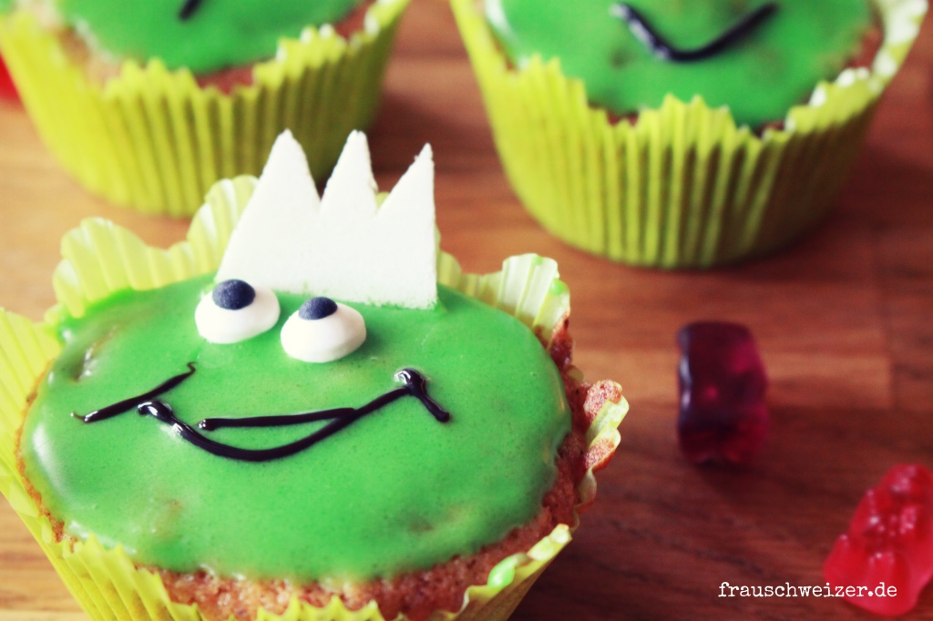 Rezept haselnuss muffin Froschparty
