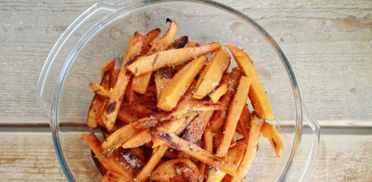 Suesskartoffel-Pommes -rezept
