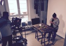 FrauSchweizer DIY-Videodreh hinter den Kulissen