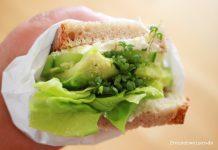 sauleckere grüne Brote zum essen. selbermachen
