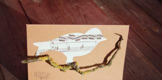 DIY Vogelkarte selbermachen