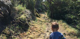 urlaub, frankreich, wandern, Ardeche, vulkan