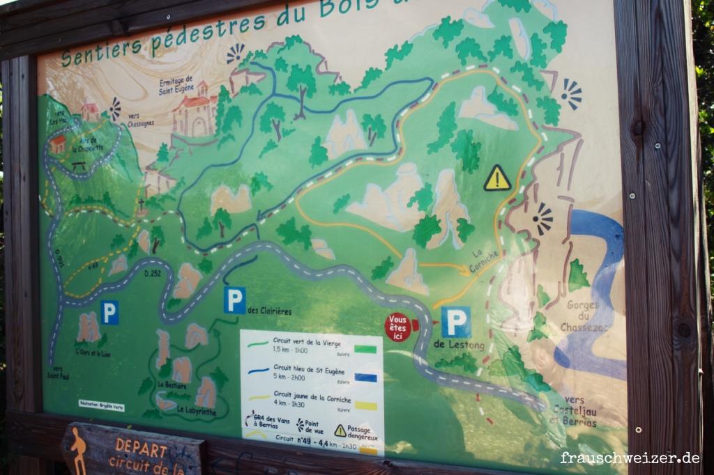 Bois de Païolive, ardeche, frankreich, unterwegsmit frauschweizer.de