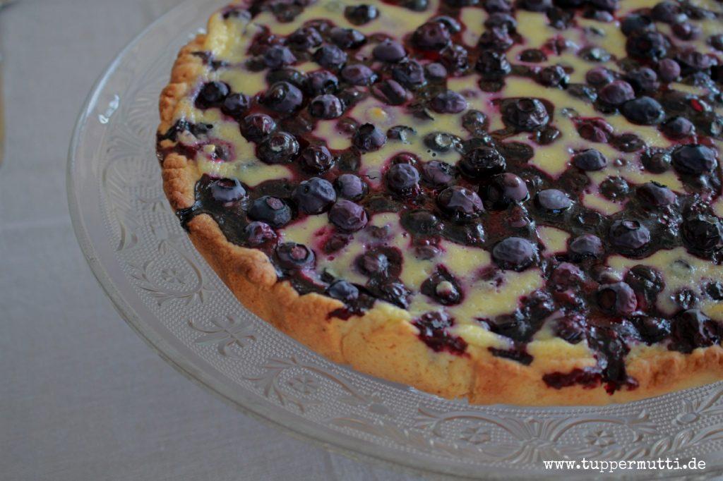 rezept Blaubeerkuchen, heidelbeertarte