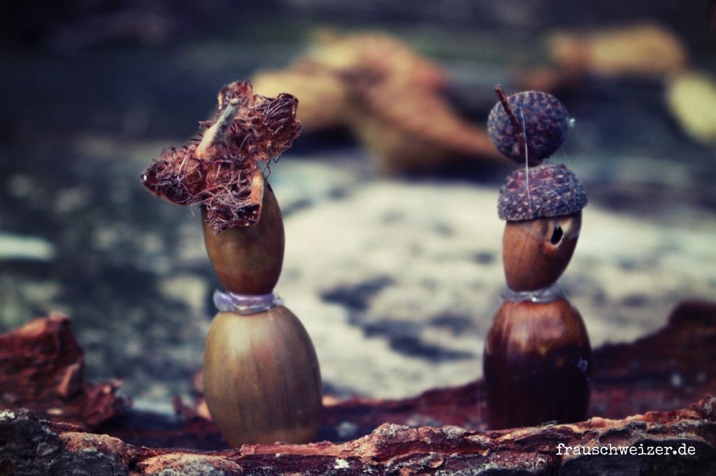 DIY Basteln Waldpiraten mit Naturmaterialien