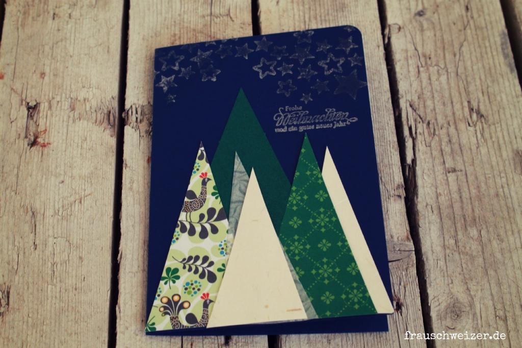 Karten Herbst und Weihnachten 2018