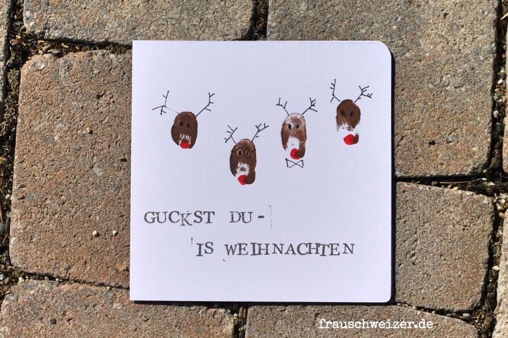 Karte FrauSchweizer Weihnachten