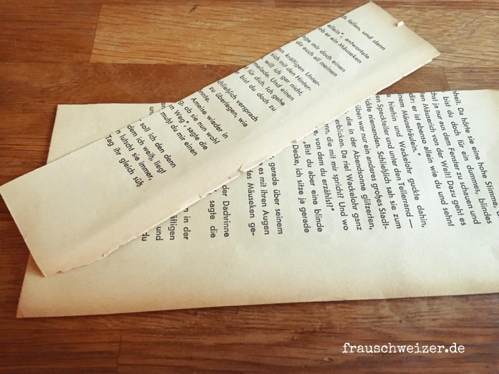 DIY Anleitung - ein Herz aus Papier basteln.