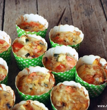 leckeres-rezept-Gemuese-Muffins-low-Carb