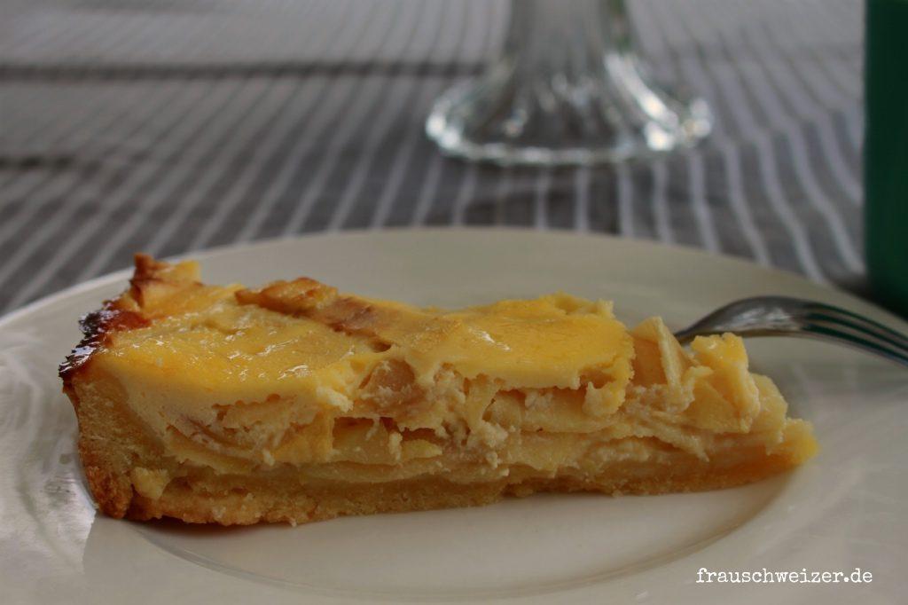 Apfel Kaese Kuchen Rezept von FrauSchweizer