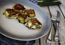 Rezept Zucchini Quark Röllchen von frauschweizer