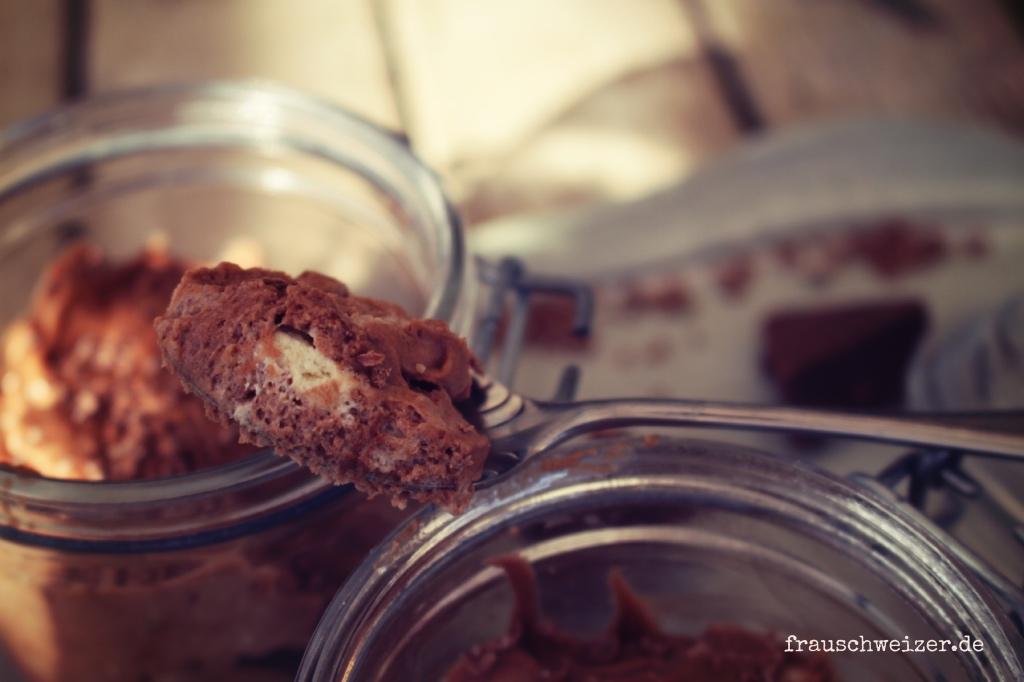 leckeren Nachtisch selbermachen: Toblerone Mousse