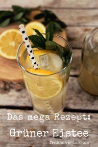 Rezept: grüner Eistee