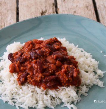 Rezept Chilli con Carne für die ganze Familie, FrauSchweizer