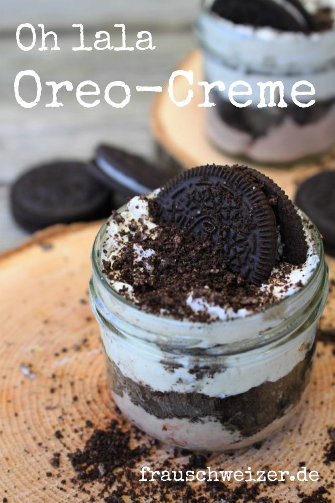 Rezept allerfeinste Oreo Creme von frauschweizer