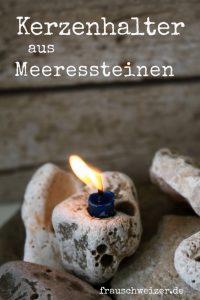 Dekoration mit Kerzen, FrauSchweizer