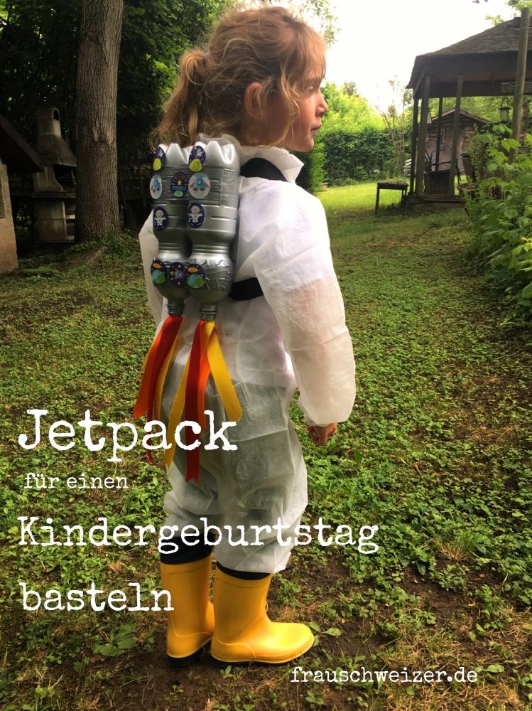 Jetpack, Raketenrucksack fuer eine Weltraumparty