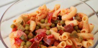 Rezept-weltbester-Nudelsalat-kabanossi