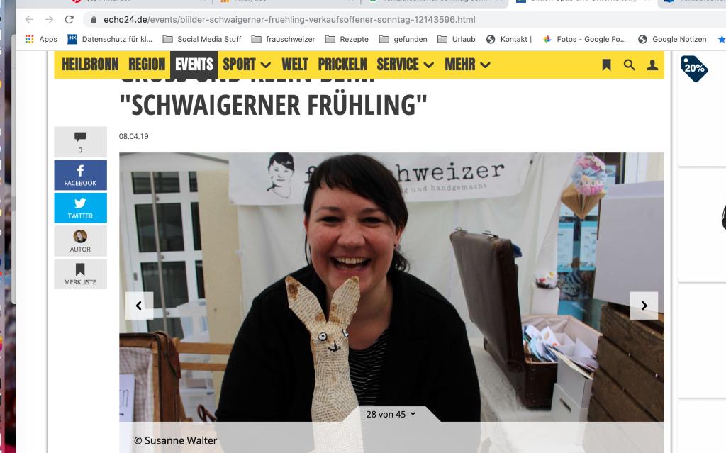 Frauschweizer regionale presse