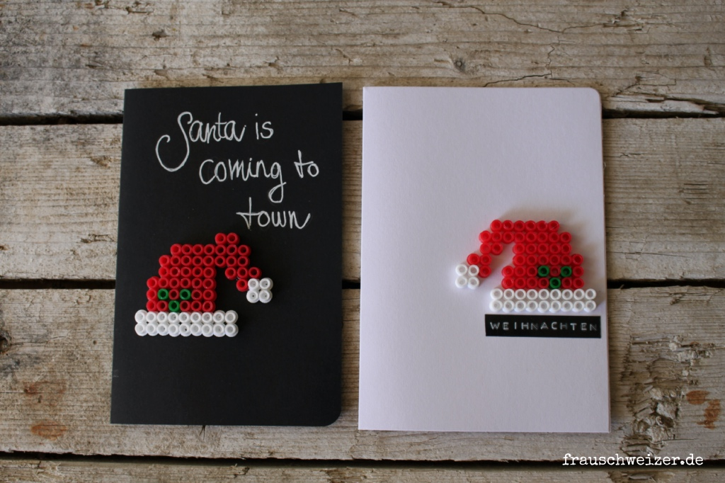 ausergewoenliche Karten zu Weihnachten