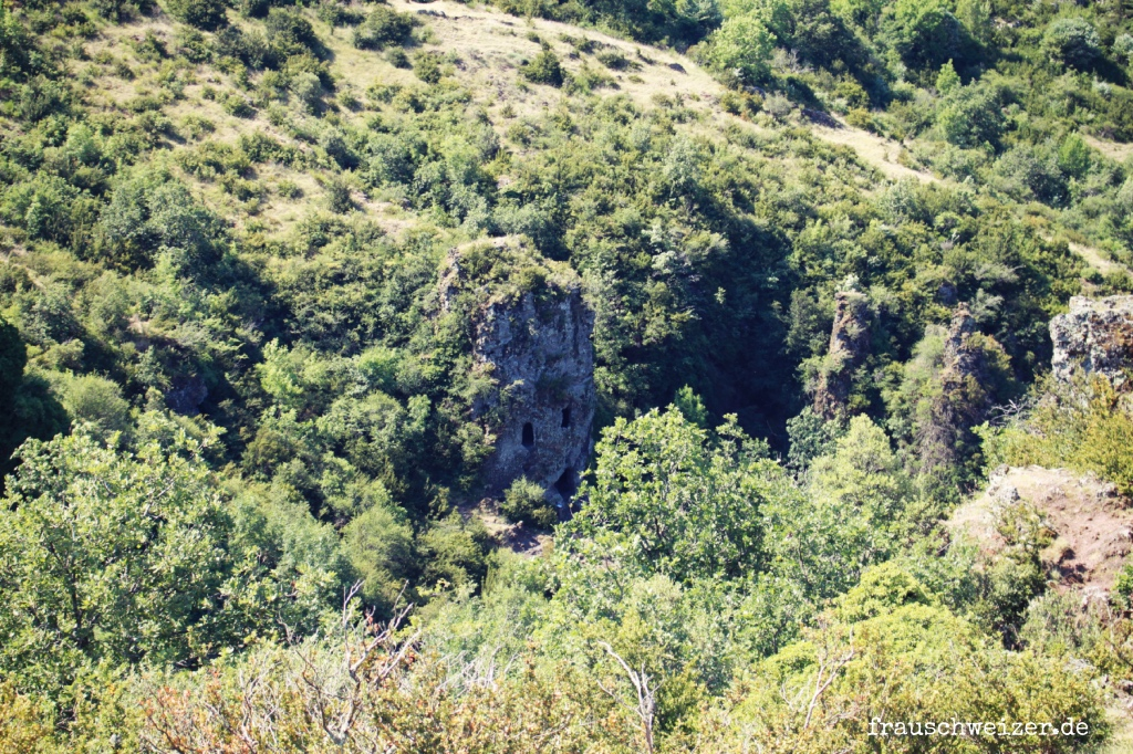 Balmes de Montbrun in Frankreich Ardeche
