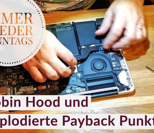 Robin Hood und explodierte Payback Punkte