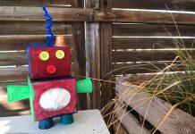 Roboter aus Karton selber bauen