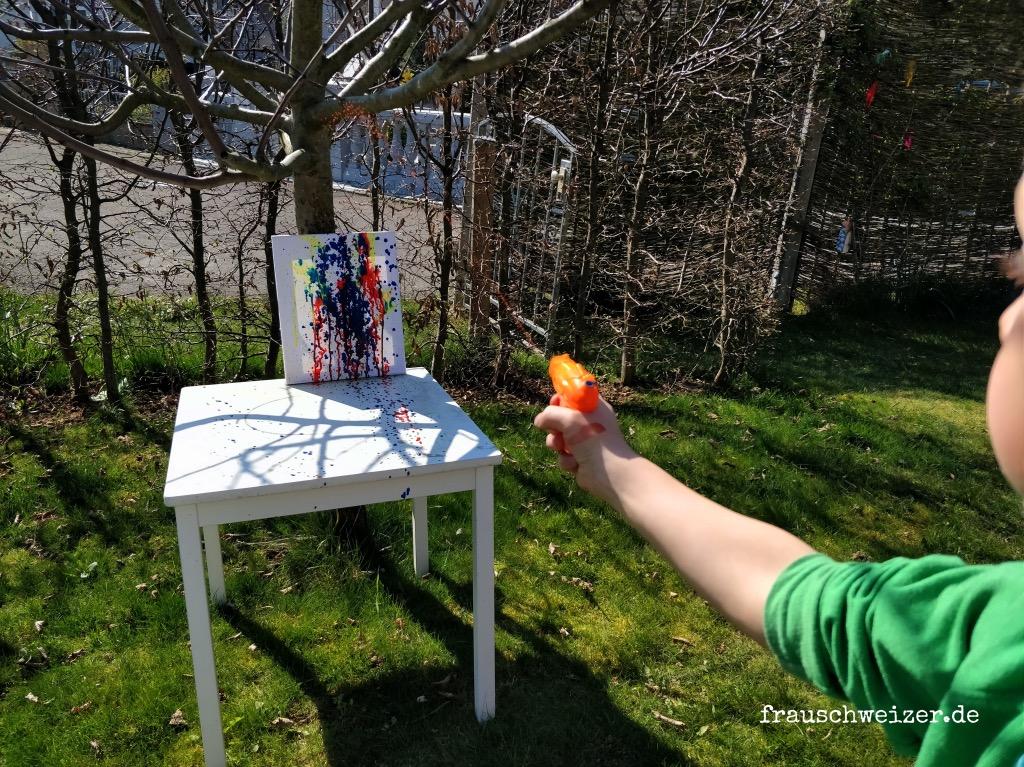 Spritzpistolen-malen-bilder