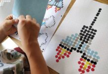 kinderbeschäftigung- dot-on-bastelset-diy-klebepunkte