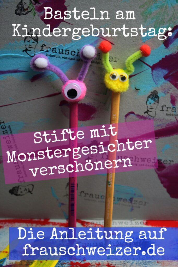 Mit Kindern Monster basteln - 5 kreative Ideen! 2