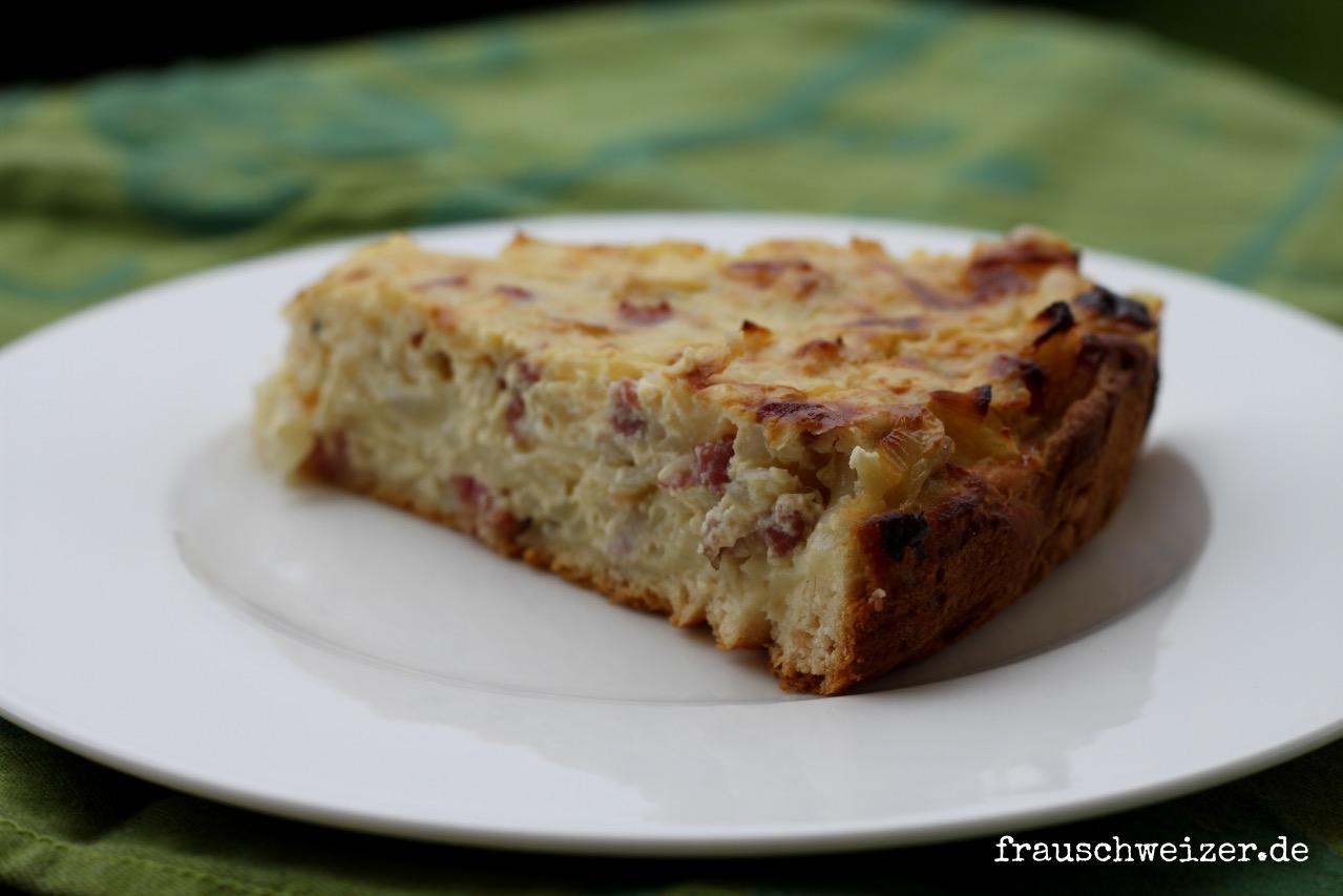 fränkischer Zwiebelkuchen