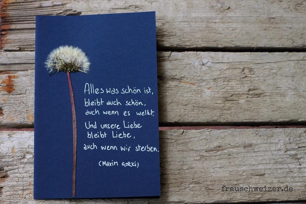 kondolenzkarte, card, karte, handgemacht, handmade