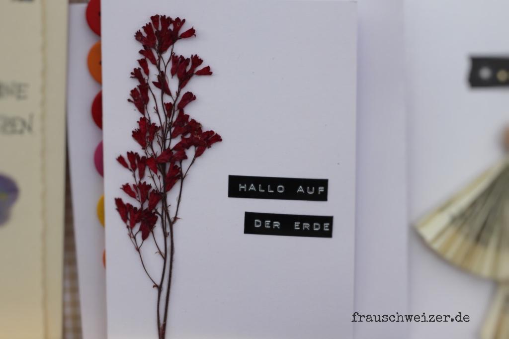 Blumen, flowers, glückwunsch, geburt, baby, karte, card, handgemacht, handmade