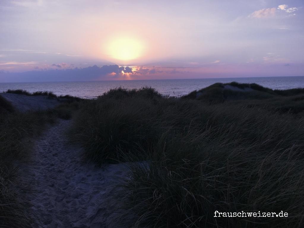 Dänemark, Hennestrand