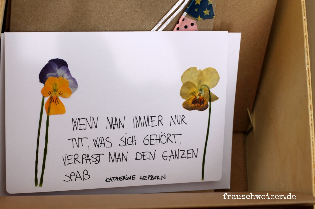 verpasst den Spass Blumen
