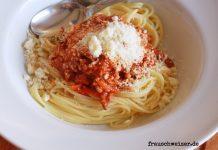 Spaghettie Bolognese