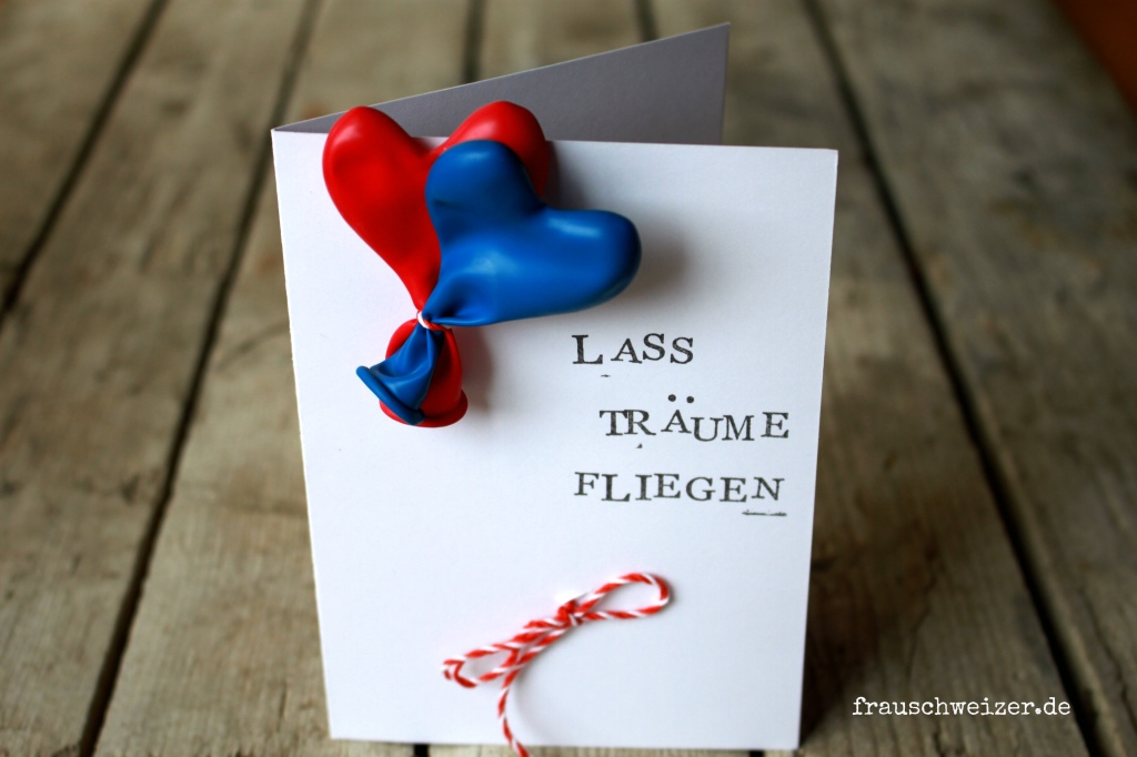 FrauSchweizer bei Pauline und neue handgemachte Karten 1
