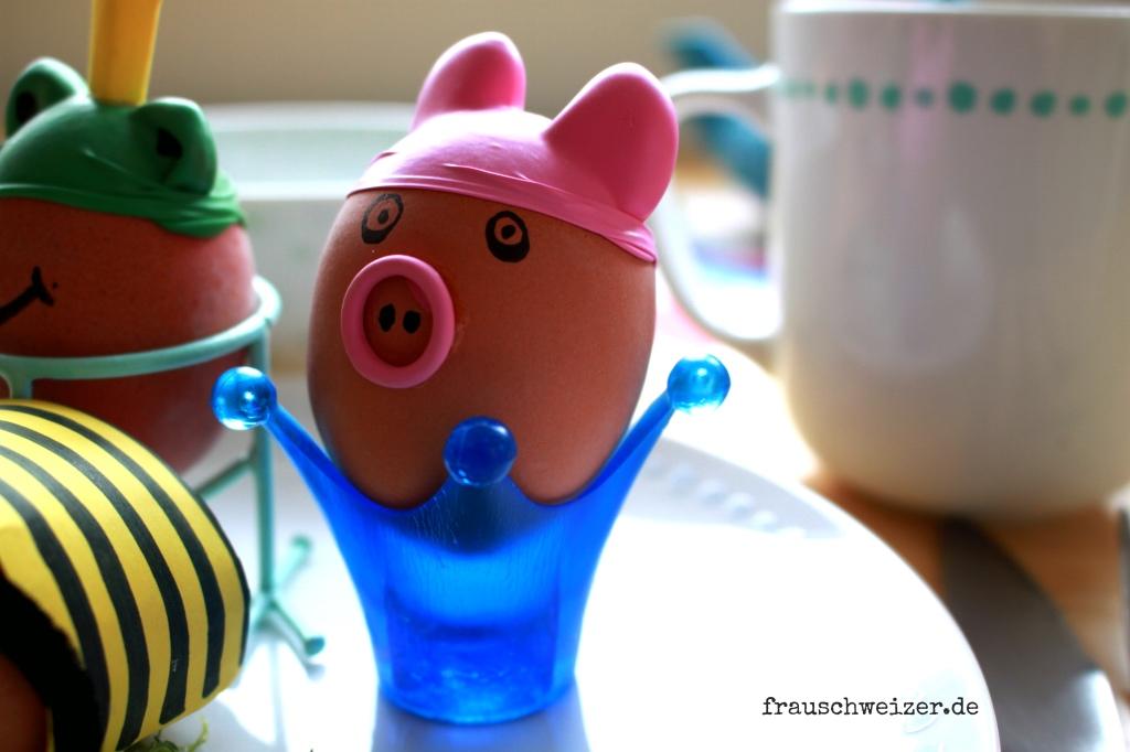 DIY Anleitung Eier Tiere