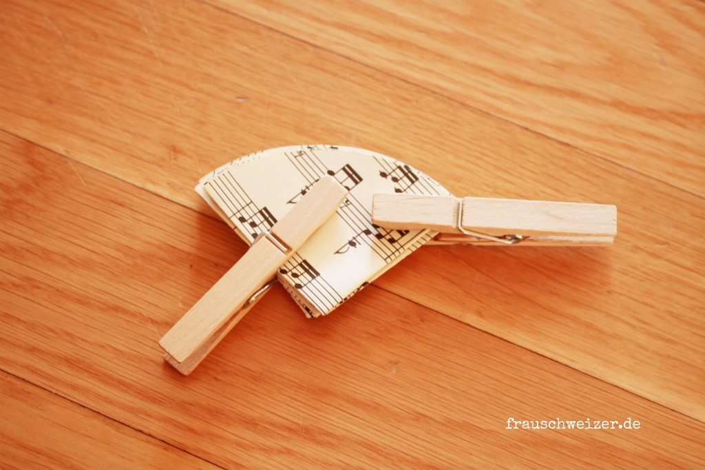 Papier Regenschirme selbermachen