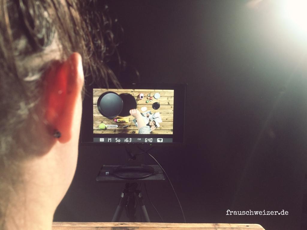 FrauSchweizer Videodreh hinter den Kulissen